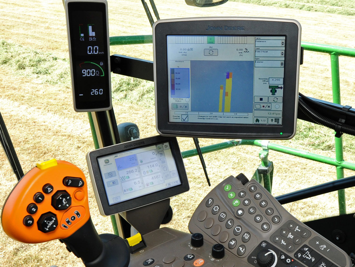 New app allows you to adjust your Deere from your desk